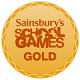 Sainsbury School Games Gold